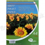 Matt Photo Inkjet Paper, 128gsm, A4 - 100 sheets