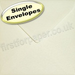 Anvil Hammer, Textured Greetings Card Envelope, 155 x 155mm, Ivory