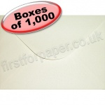 Anvil Hammer, Textured Greetings Card Envelope, C5 (162 x 229mm), Ivory - 1,000 Envelopes