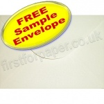 •Sample Anvil Hammer Textured Envelope, C5, Ivory