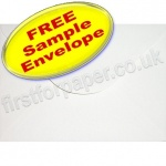•Sample Anvil Hammer Textured Envelope, C5, White