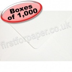 Anvil Hammer, Textured Greetings Card Envelope, C6 (114 x 162mm), White - 1,000 Envelopes
