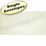 Anvil Hammer, Textured Greetings Card Envelope, DL (110 x 220mm), Ivory