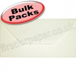 Anvil Hammer, Textured Greetings Card Envelope, DL (110 x 220mm), Ivory - 1,000 Envelopes