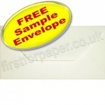 •Sample Anvil Hammer Textured Envelope, DL, Ivory