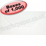 Anvil Hammer, Textured Greetings Card Envelope, DL (110 x 220mm), White - 1,000 Envelopes