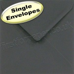 Spectrum Greetings Card Envelope, 155 x 155mm, Black