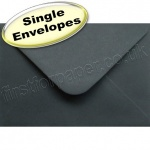 Spectrum Greetings Card Envelope, C6 (114 x 162mm), Black