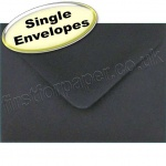 Spectrum Greetings Card Envelope, C7 (82 x 113mm), Black