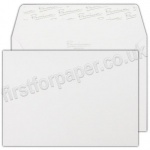 Premium Wove Business Envelopes, C6 (114 x 162mm) Ice White - Box of 500