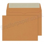 Calypso Colour Envelopes, C6 (114 x 162mm), Mid Brown - Box of 500