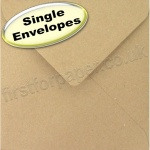 Fleck Kraft Recycled Envelope, 165 x 165mm