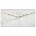Marlmarque, Envelopes, DL (110 x 220mm), Marble White