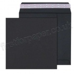 Black Envelope, 180gsm, 220 x 220mm - Box of 250