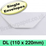 Rapid Recycled Envelope, DL (110 x 220mm), White