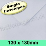 Rapid Recycled Envelope, 130 x 130mm, White