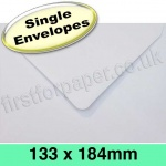 Rapid Recycled Envelope, 133 x 184mm, White