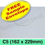 •Sample Rapid Recycled Envelope, C5 (162 x 229mm), White