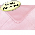 Spectrum Greetings Card Envelope, C6 (114 x 162mm), Pearlescent Shell Pink