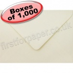 Spectrum Greetings Card Envelope, 125 x 175mm, Ivory - 1,000 Envelopes