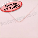 Spectrum Greetings Card Envelope, 130 x 130mm, Baby Pink - 1,000 Envelopes