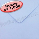 Spectrum Greetings Card Envelope, 130 x 130mm, Wedgewood Blue - 1,000 Envelopes