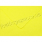 Spectrum Greetings Card Envelope, 125 x 175mm, Daffodil