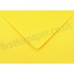 Spectrum Greetings Card Envelope, 125 x 175mm, Golden Yellow