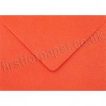 Spectrum Greetings Card Envelope, 125 x 175mm, Poppy Red