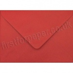 Spectrum Greetings Card Envelope, 125 x 175mm, Scarlet Red