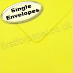 Spectrum Greetings Card Envelope, 130 x 130mm, Daffodil