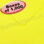 Spectrum Greetings Card Envelope, 130 x 130mm, Daffodil - 1,000 Envelopes