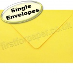 Spectrum Greetings Card Envelope, 133 x 184mm, Golden Yellow