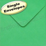 Spectrum Greetings Card Envelope, 130 x 130mm, Xmas Green