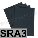 Extract Recycled, 130gsm, SRA3, Flint - 100 sheets