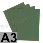 Extract Recycled, 130gsm, A3, Khaki - 100 sheets