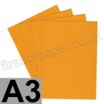 Extract Recycled, 130gsm, A3, Mustard - 100 sheets