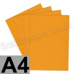 Extract Recycled, 130gsm, A4, Mustard - 200 sheets