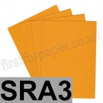 Extract Recycled, 130gsm, SRA3, Mustard - 100 sheets