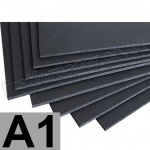 A1, Black 5mm Foam Board
