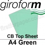 Giroform Carbonless NCR, CB60, Top Sheet, A4, 60gsm Green - 500 Sheets