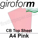Giroform Carbonless NCR, CB60, Top Sheet, A4, 60gsm Pink - 500 Sheets