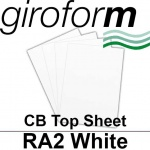 Giroform Carbonless NCR, CB80, Top Sheet, RA2, 80gsm White - 500 Sheets