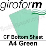 Giroform Carbonless NCR, CF80, Bottom Sheet, A4, 80gsm Green - 500 Sheets