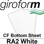 Giroform Carbonless NCR, CF80, Bottom Sheet, RA2, 80gsm White - 500 Sheets