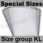 Krystal, White Translucent 100gsm, Special Sizes, (Size Group KL)