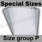 Krystal, White Translucent 100gsm, Special Sizes, (Size Group P)