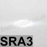 Mirralux, Cast Coated, Single Sided High Gloss, 250gsm, SRA3, White