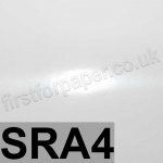 Mirralux, Cast Coated, Single Sided High Gloss, 250gsm, SRA4, White
