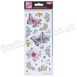 Anita's Peel Off Coloured Stickers, Beautiful Butterflies